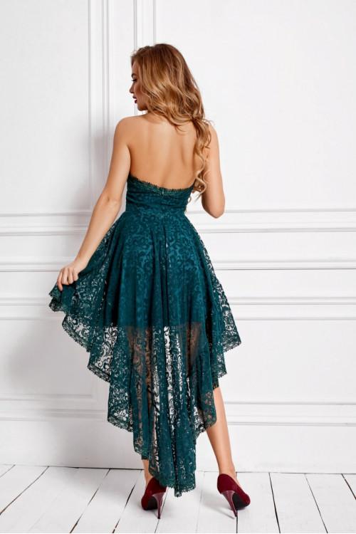Платье 3474 бутылочный