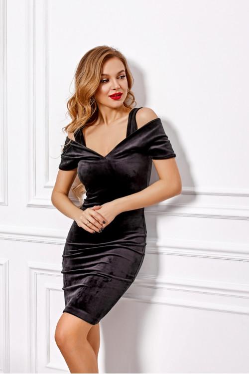 Платье 3442 черный