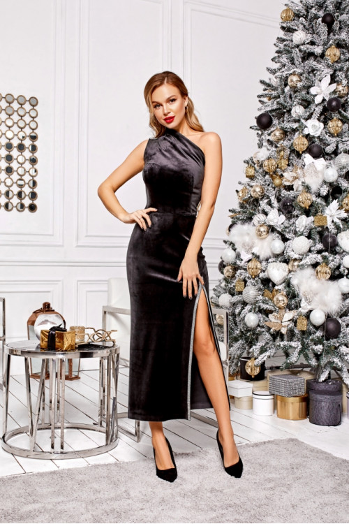 Платье 3496 черный