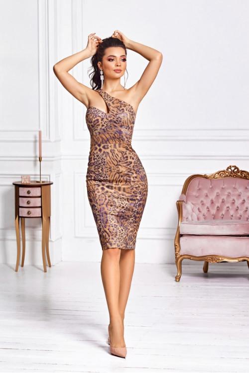 Платье 3468 тигровый