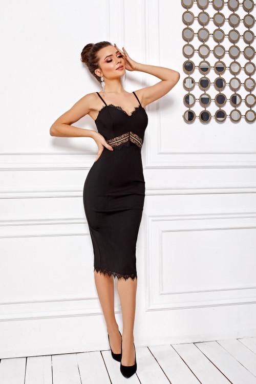 Платье 3489 черный