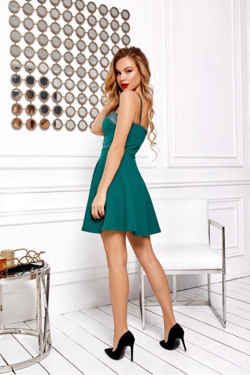 Платье 3492 бутылочный