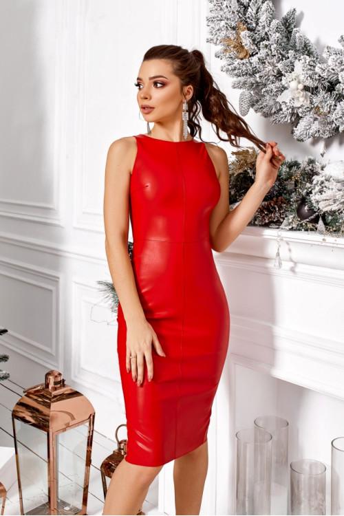 Платье 3490 красный