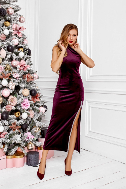 Платье 3496 слива