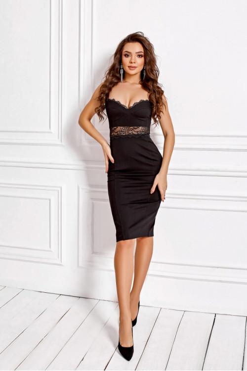 Платье 3466 черный