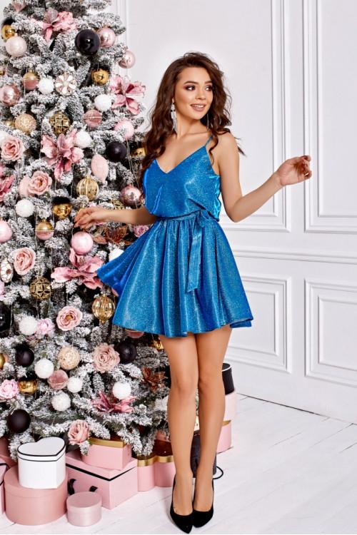 Платье 3440 зеленый