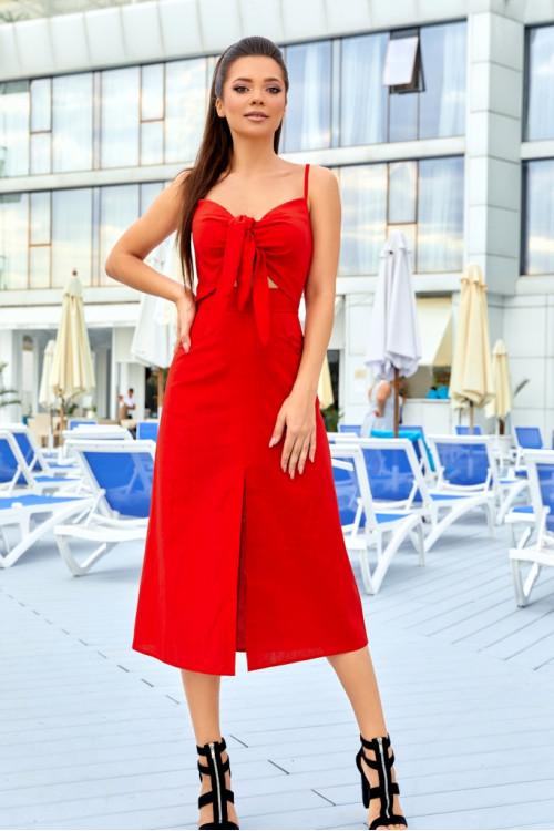 Платье 3525 красный