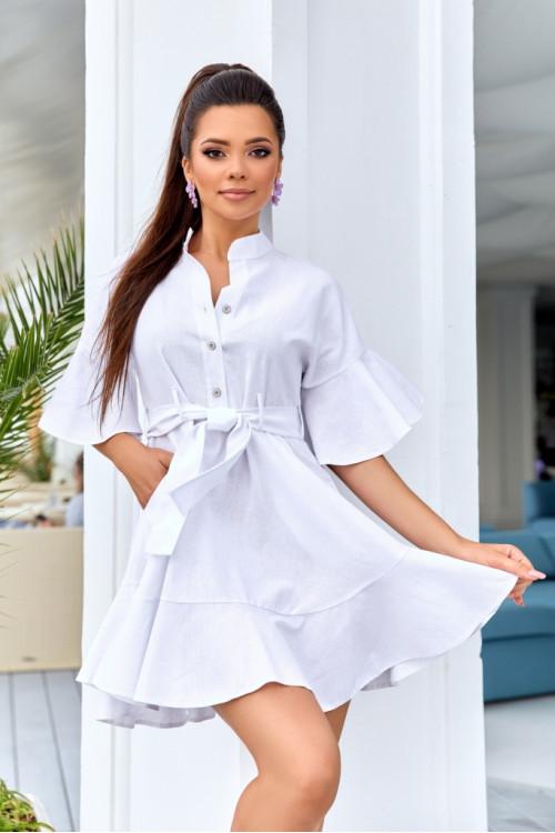 Платье 3510 белый