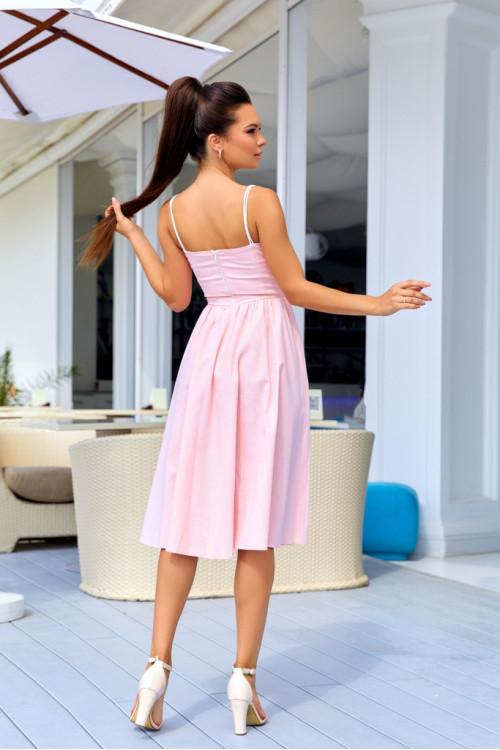 Платье 3427 розовый