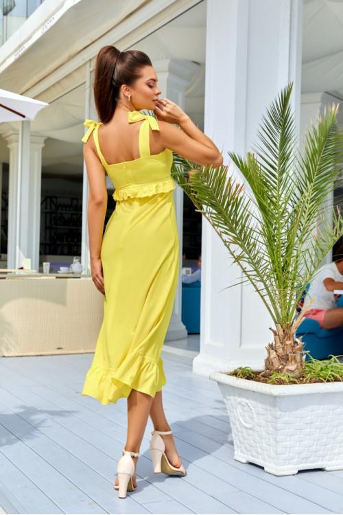 Платье 3527 желтый