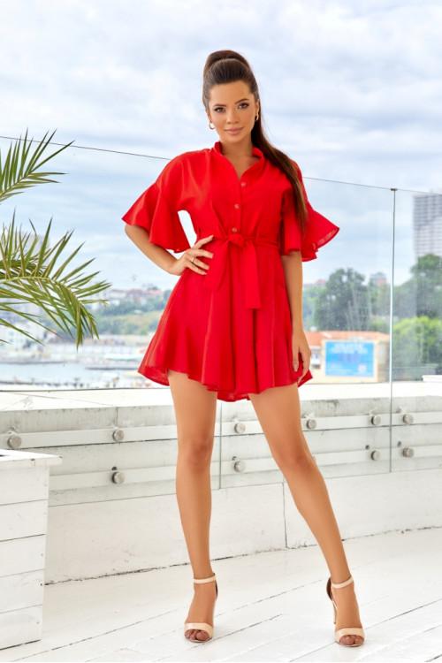 Платье 3510 красный