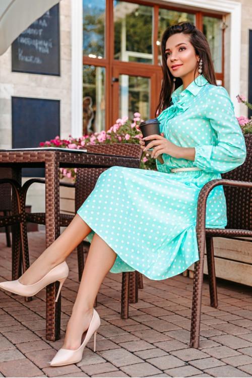 Платье 3455 мята