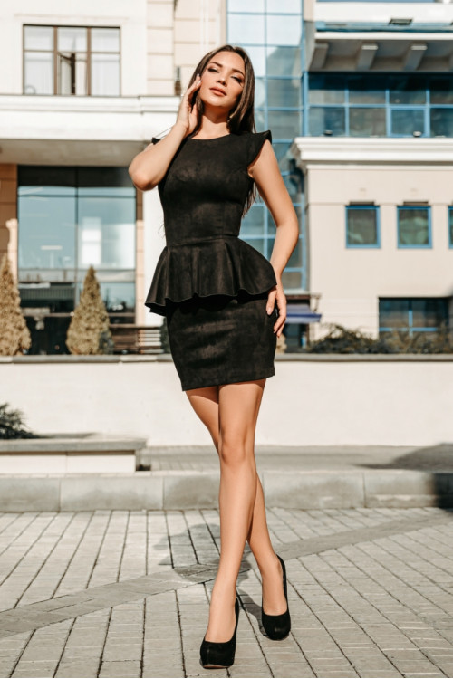 Платье 3400 черный