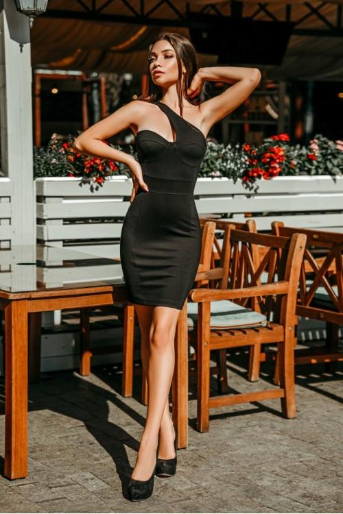 Платье 3470 черный