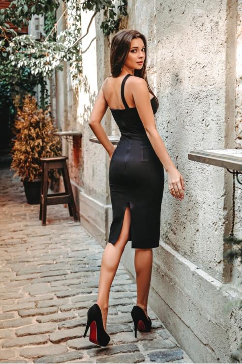 Платье 3468 черный