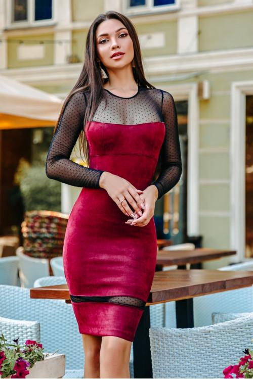 Платье 3397 марсал