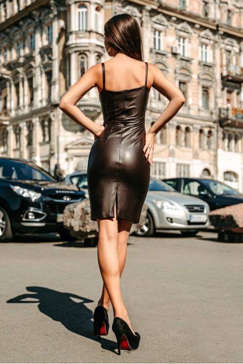 Платье 3388 шоколад
