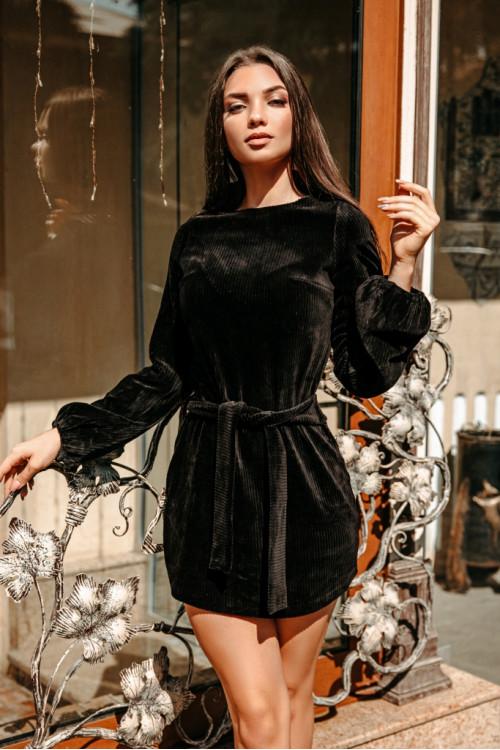 Платье 3454 черный