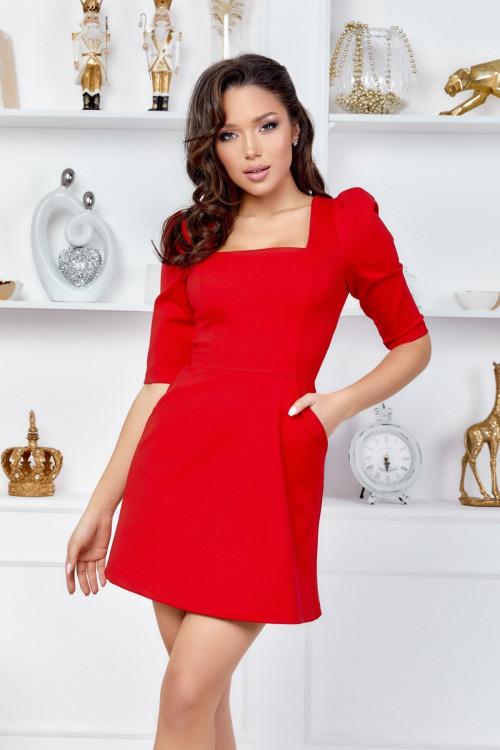 Платье 3554 красный