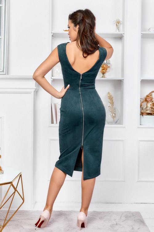 Платье 3540 бутылочный