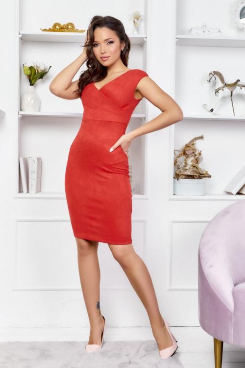 Платье 3545 красный