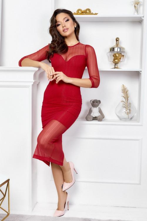 Платье 3443 красный