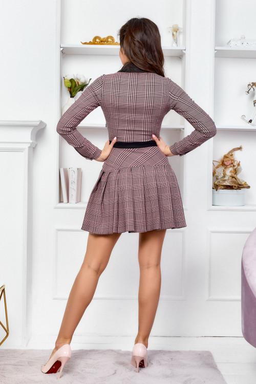 Платье 3541 розовый