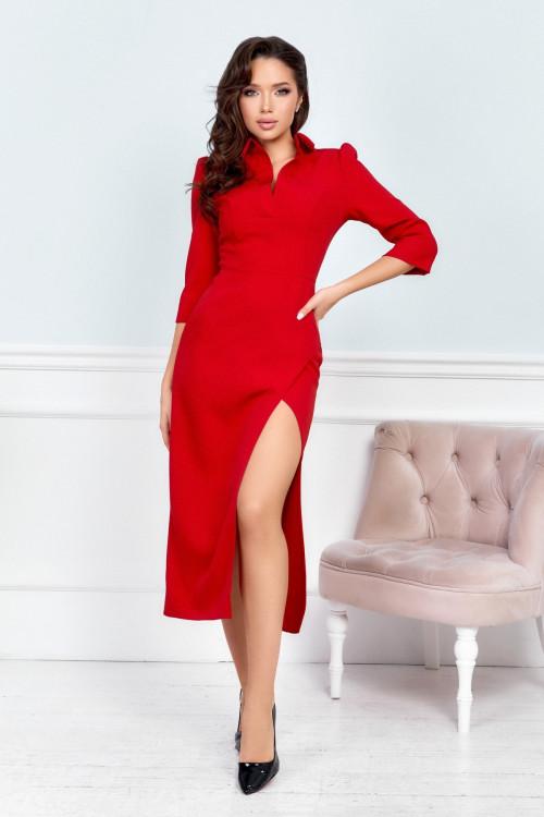 Платье 3548 красный