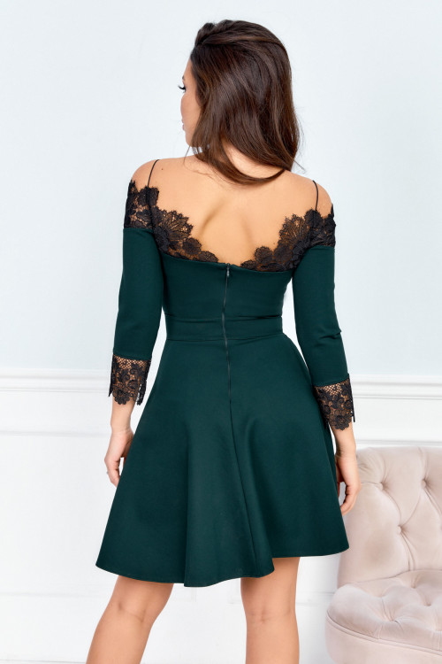 Платье 3478 бутылочный