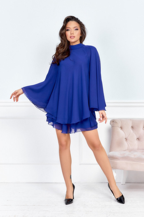 Платье 3552 синий