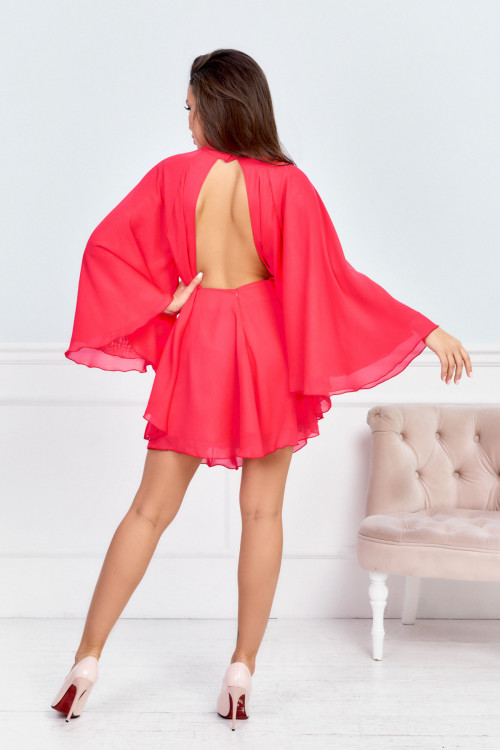 Платье 3552 коралл