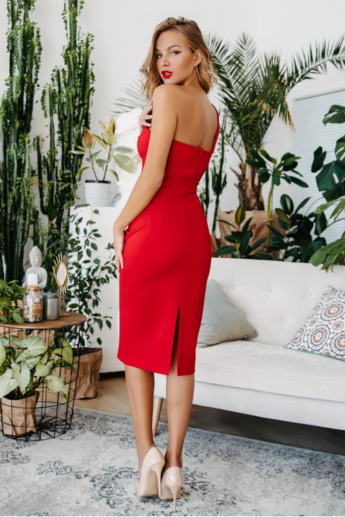 Платье 3468 красный