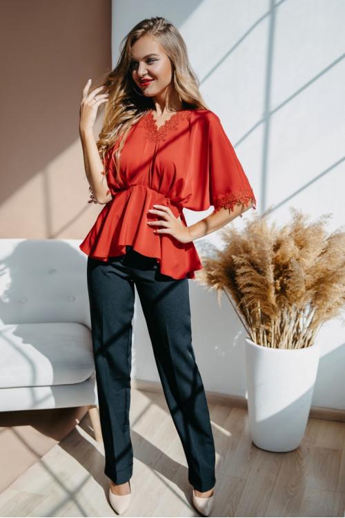 Блузка 2106 красный