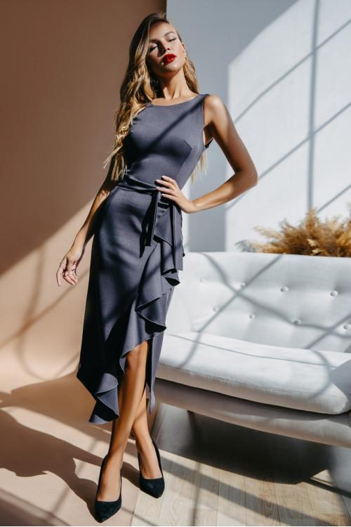 Платье 3469 графит