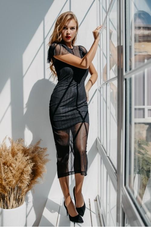 Платье 3471 черный