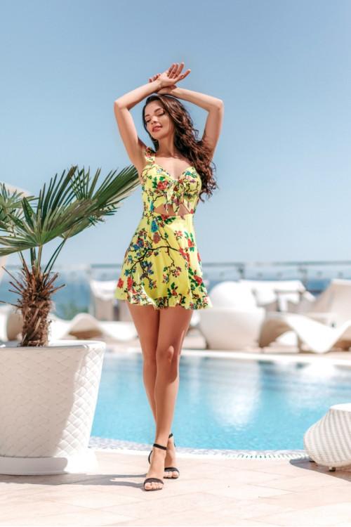 Платье 3512 желтый