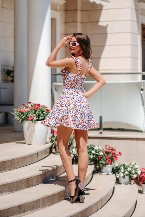 Платье 3511 белый