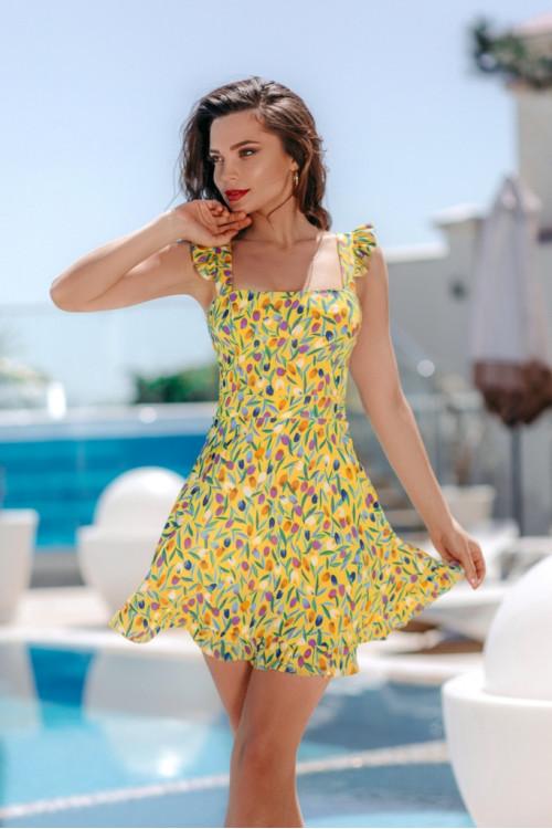 Платье 3511 желтый