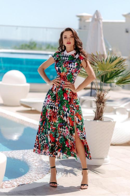 Платье 3505 краный