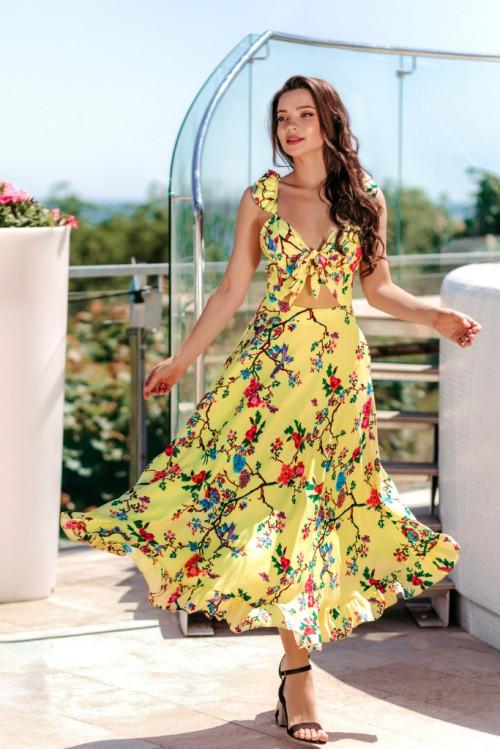 Платье 3514 желтый