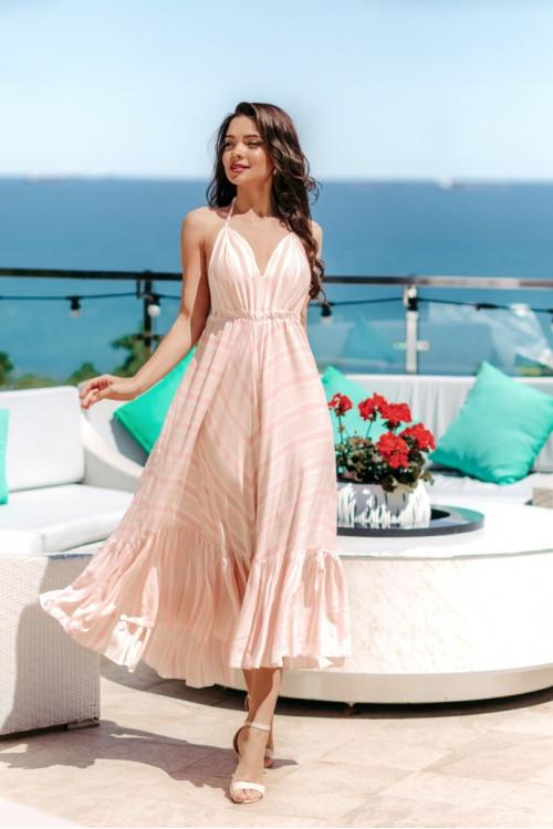 Платье 3509 розовый
