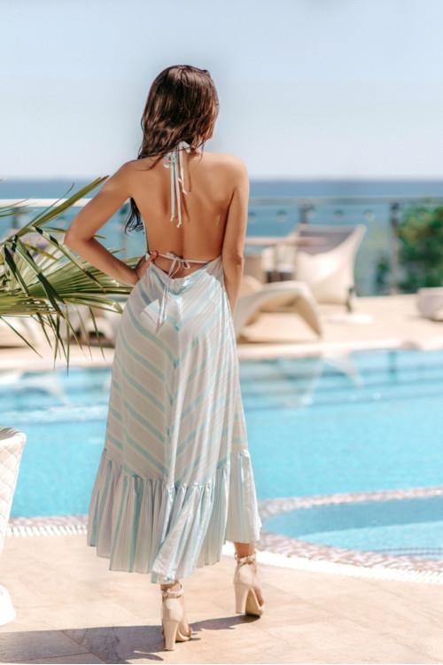 Платье 3509 голубой