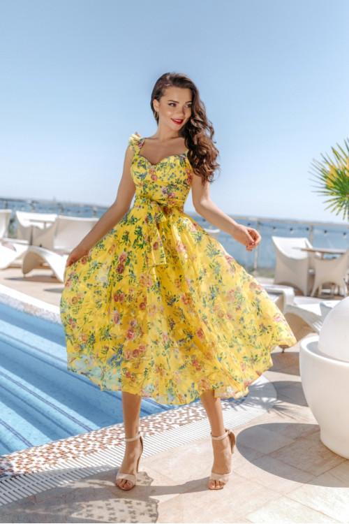 Платье 3502 желтый