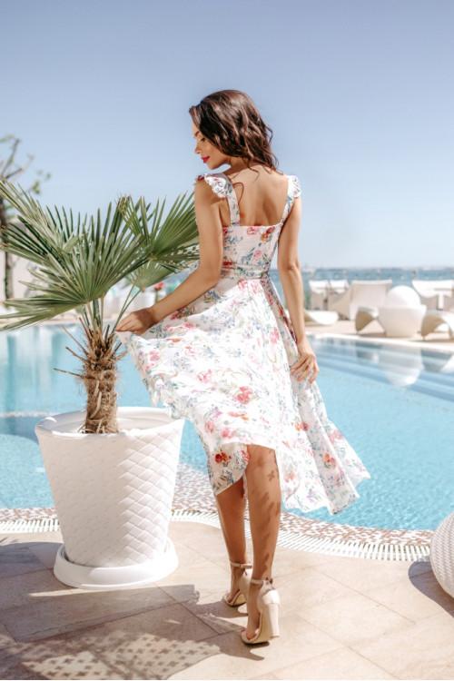 Платье 3502 белый