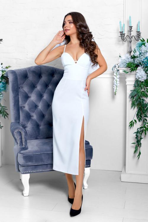 Платье 3528 белый