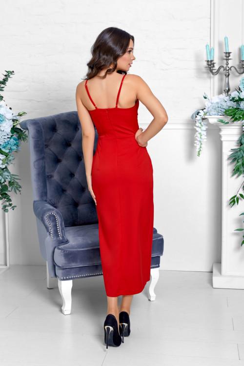 Платье 3528 красный