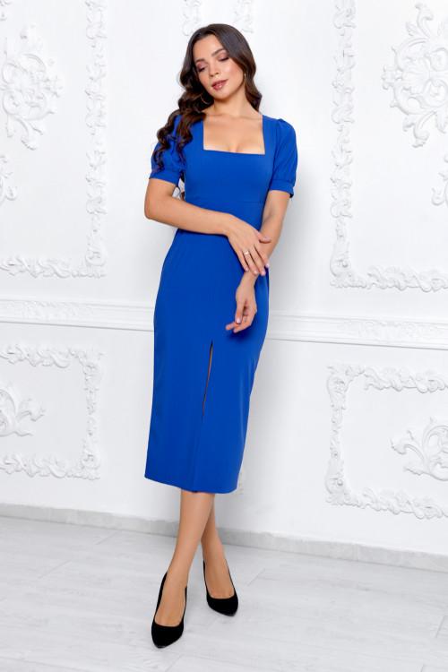 Платье 3534 синий
