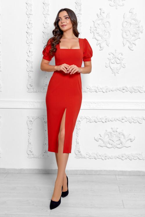 Платье 3534 красный