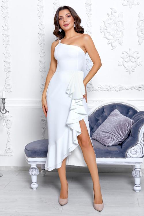 Платье 3536 белый