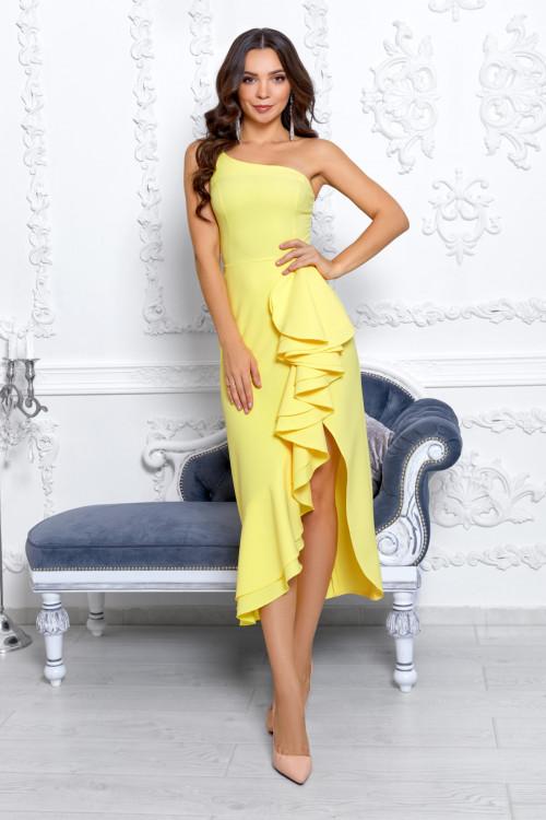 Платье 3536 желтый